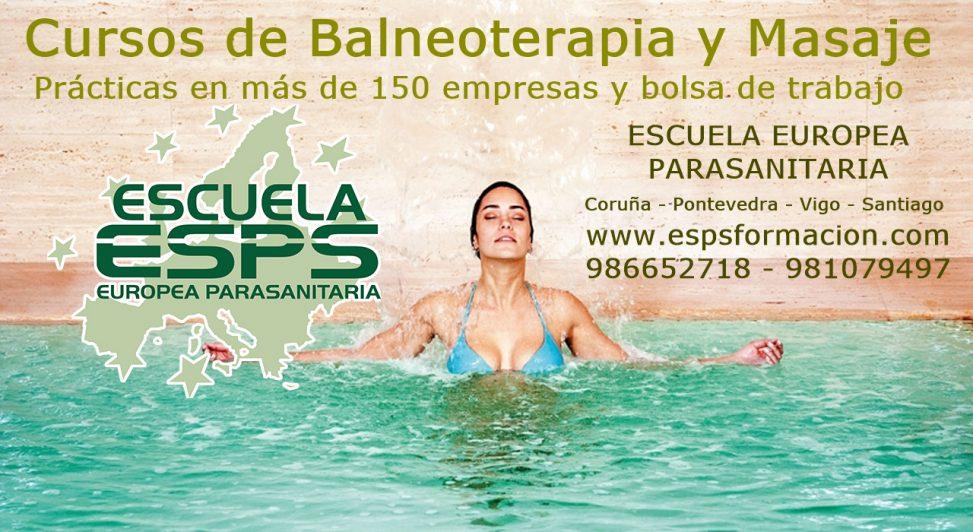 cursos de balneoterapia